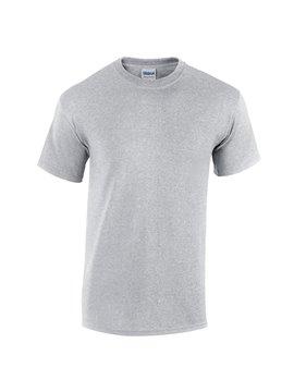 Gildan Camiseta Talla L T Shirt Adulto Cuello Redondo - Gris Jaspel