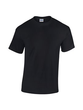Gildan Camiseta T Shirt Adulto Talla M Cuello Redondo - Negro