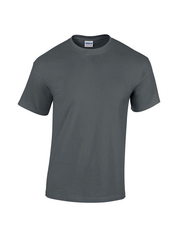 Gildan Camiseta Talla S T Shirt Adulto Cuello Redondo - Carbon