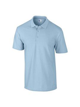 Gildan Camiseta Polo Adulto Talla M Poliester 220 gr - Azul Claro