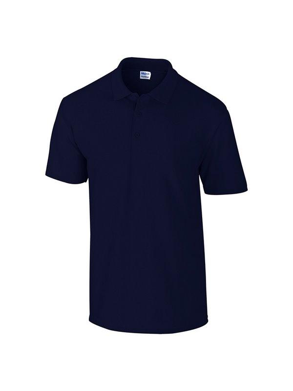 Gildan Camiseta Polo Adulto Talla Xl Poliester 220 gr - Azul Marino