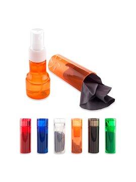 Liquido Limpiador Pantallas y Lentes 30ml Microfibra - Negro
