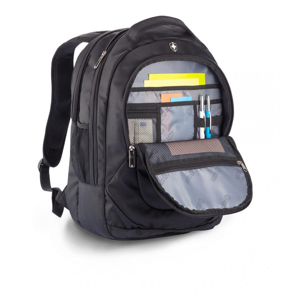 Maleta Maletin Morral Backpack Swisspeak Outdoor Poliester - Negro