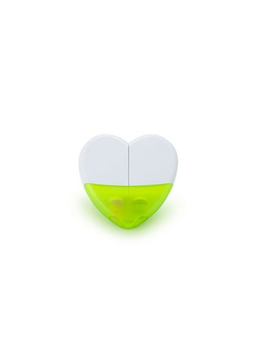 Set de Resaltadores En Parafina Heart Sistema Twist - Amarillo