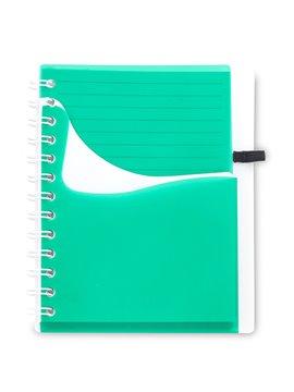 Cuadernillo Libreta Wave 80 Hojas en Polipropileno - Verde
