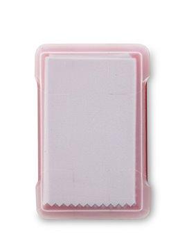Frasco Spray Liquido Limpiador Pantallas Card 20ml - Rojo Transparente