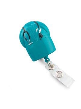 Portaidentificador De Carnet Medic en Plastico - Verde