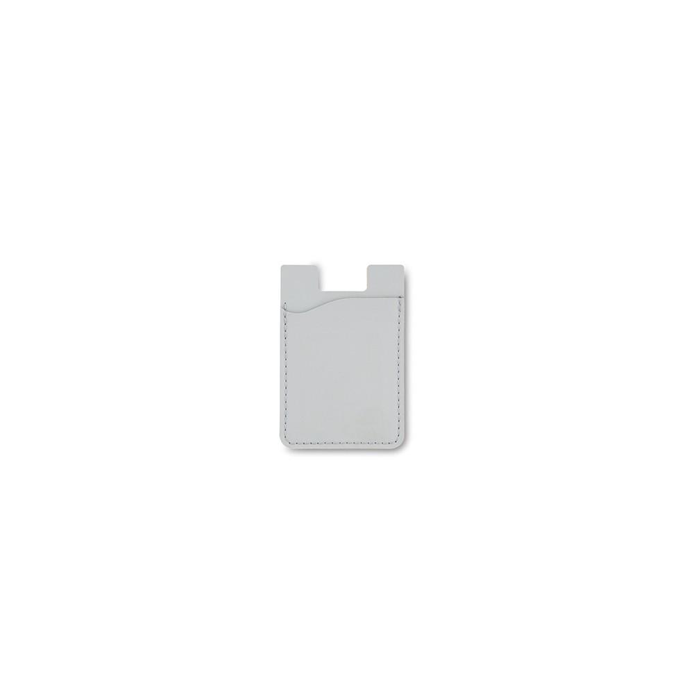 Portadocumentos Portatarjetas Adhesivo En Poliuretano - Gris