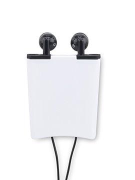 Auriculares Audifonos Lark Elaborados en Plastico - Negro