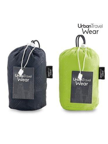Chaqueta Rompevientos Urban Travel Wear - L Negro