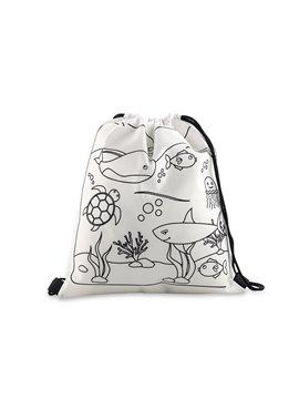 Tula Bolsa Sporty Bag Kidz en Cambrel - Blanco Sin Diseño