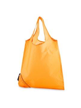 Maleta Bolsa Plegable Market en Poliester - Naranja