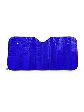 Protector Parabrisas Solar para Carro Flat en PE - Azul Rey