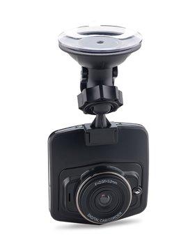 Videocamara Digital para Auto en Plastico con Chupa Adherir - Negro
