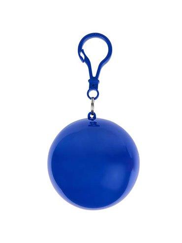 Impermeable Grisel en Plastico Transparente estuche - Azul