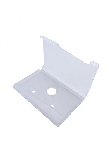 Portadocumentos Tarjetero en Plastico - Blanco