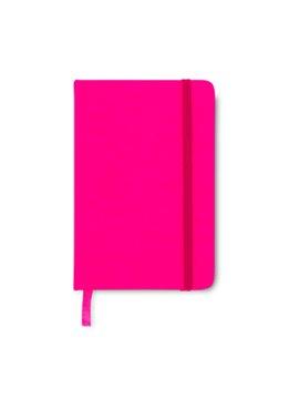 Mini Cuaderno Libreta Neon II 80 Hoyas Rayadas - Fuccia