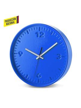 Reloj De Pared Tremont en Poliestireno Alto Impacto - Azul
