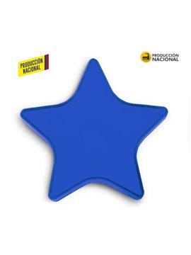 Alcancia Estrella de 16 cm Produccion Nacional - Azul