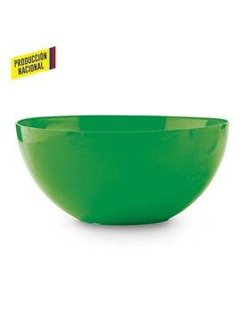 Bowl Taza En Plastico Liso - Verde