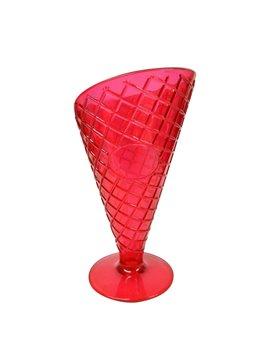 Copa para Helado con textura de galleta - Rojo