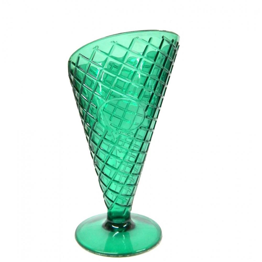 Copa para Helado con textura de galleta - Verde