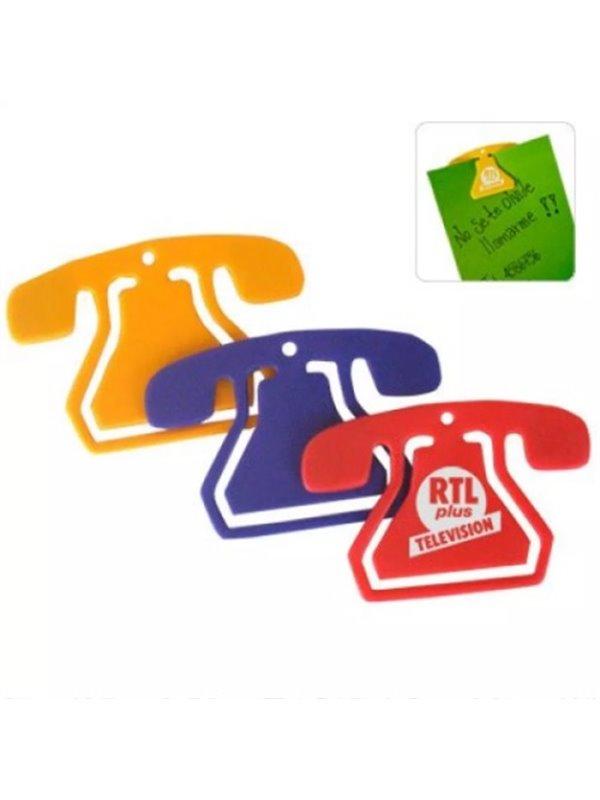 Clip Telefono sin iman - Produccion Nacional - Colores de Linea