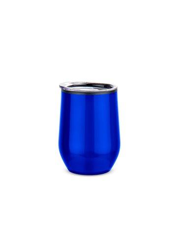 Mug Vaso en Acero Queen 12 onzas - Azul Rey