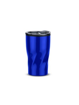 Mug Vaso Twisted Termico Doble Pared 14 Oz - Azul Rey