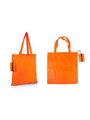 Bolsa Plegable Galileo con estuche cocido - Naranja