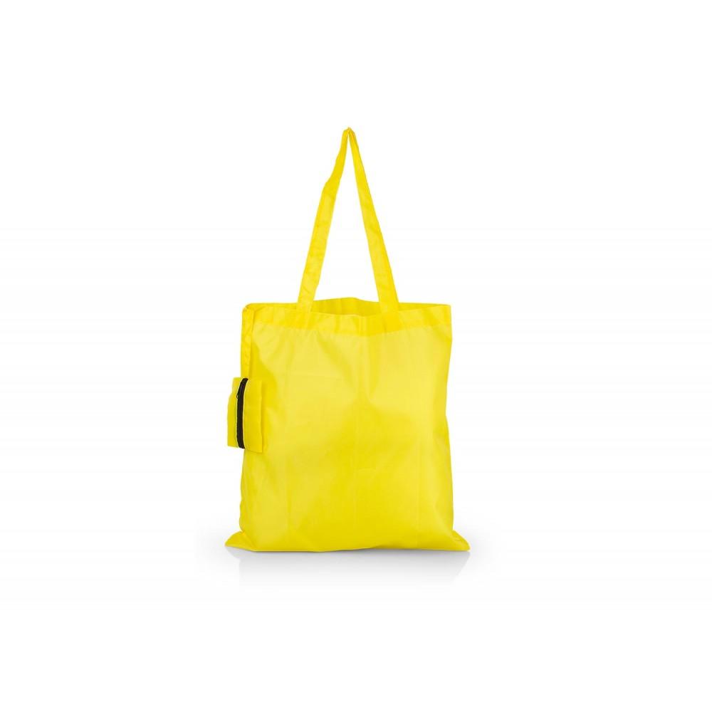 Bolsa Plegable Galileo con estuche cocido - Amarillo