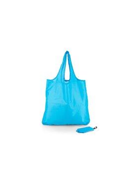 Bolsa Plegable Aristoteles cierre en broche - Azul Claro