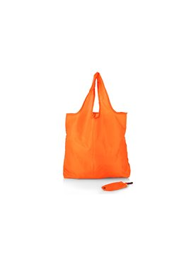 Bolsa Plegable Aristoteles cierre en broche - Naranja