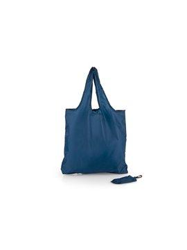 Bolsa Plegable Aristoteles cierre en broche - Azul Oscuro