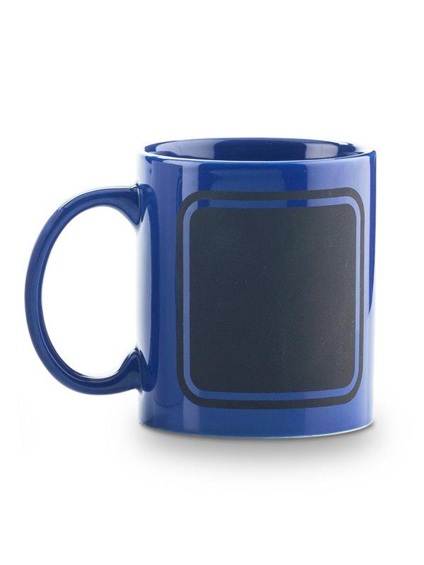 Mug Ceramica Pocillo Tablero Frame 11oz - Azul