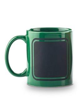 Mug Ceramica Pocillo Tablero Frame 11oz - Verde