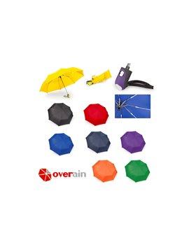 Paraguas 21 Plegable Automatico Luxury - Azul Rey