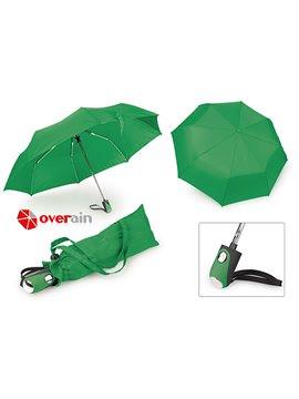 Paraguas 21 Plegable Automatico Luxury - Verde