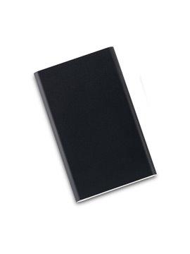 Pila Recargable en Aluminio 4000mAh Con Luz Led - negro