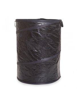 Canasta Plegable usos domesticos facil de guardar - Negro