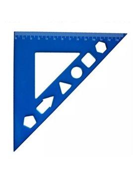 Escuadra Plantilla 14 x 20 cm - Produccion Nacional - Colores de Linea