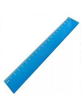 Regla Escolar 20 cm - Produccion Nacional - Colores de Linea