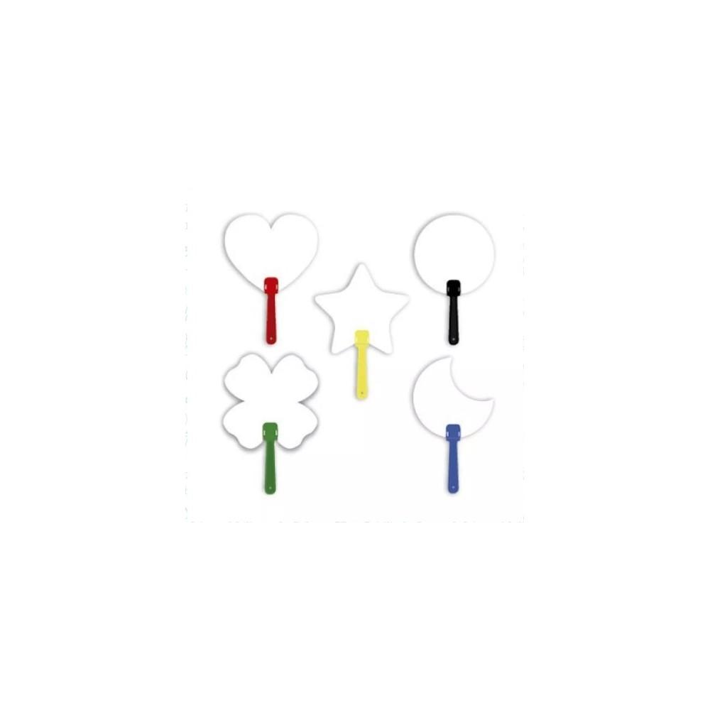 Abanico con formas - Produccion Nacional - Colores de Linea