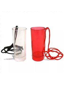 Copa cilindrica 2 onz con cordel - Produccion Nacional - Colores de Linea