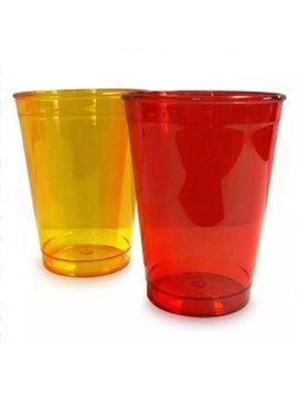Vaso 9 oz en cristal - Produccion Nacional - Colores de Linea