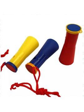 Vuvuzela Corneta con Cordel - Produccion Nacional - Colores de Linea