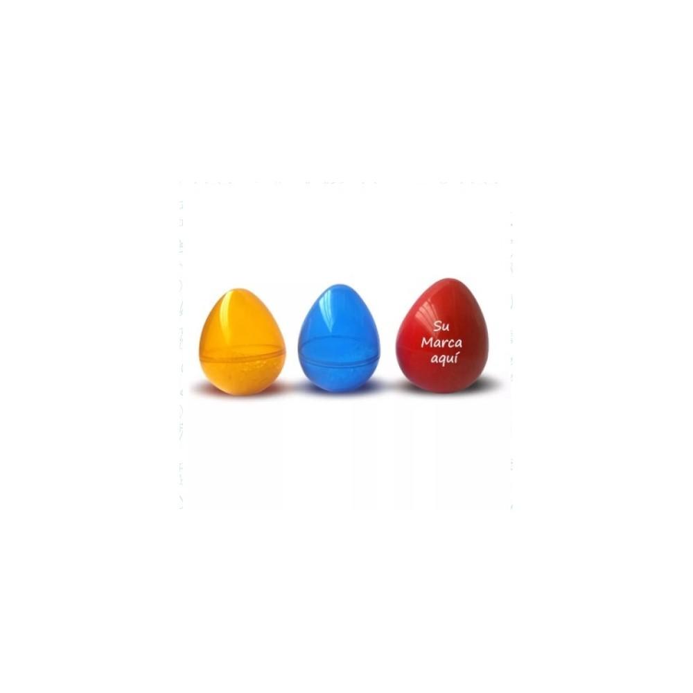 Huevo Sonajero Jumbo - Produccion Nacional - Colores de Linea