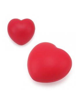 Antiestres en forma de Corazon - Rojo