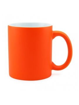 Vaso Mug Sublimacion Neon 11 Oz - Naranja