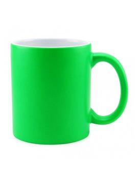 Vaso Mug Sublimacion Neon 11 Oz - Verde